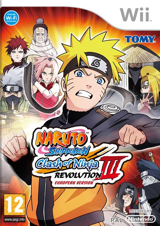Naruto shippuden clash of ninja revolution iii europe local jeu 2014 wii info - Jeu info naruto ...
