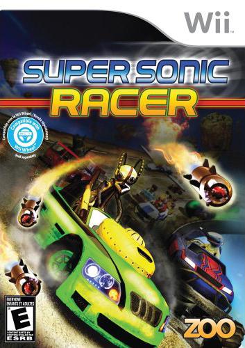 Super sonic racer usa apathy jeu 2647 wii info - Jeu info sonic ...