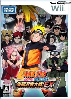 Naruto shippuuden gekitou ninja taisen ex japon caravan jeu 0094 wii info - Jeu info naruto ...